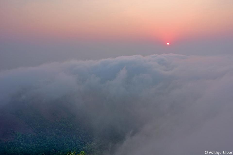 at Kodachadri s foothills  Kodachadri Clouds