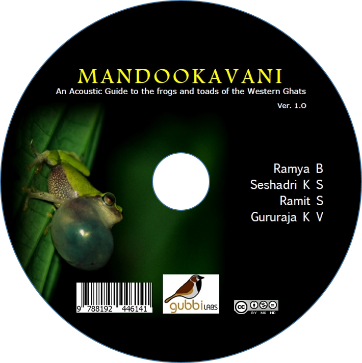 Mandookavani CD  cover