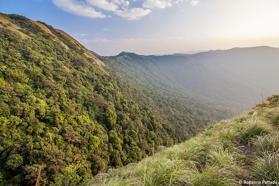 2.Pushpagiri Mandalatti slope