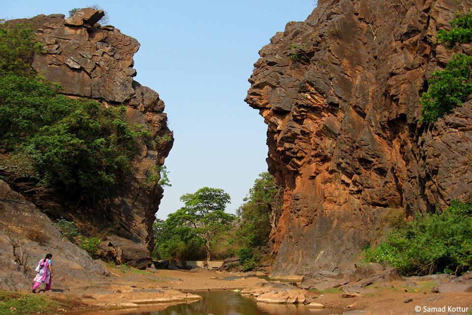 The famous Sandur gorge by Samad Kottur